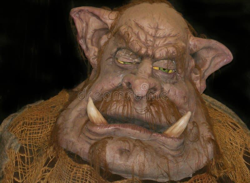 troll halloween disguise costume страшный стоковая фотография rf