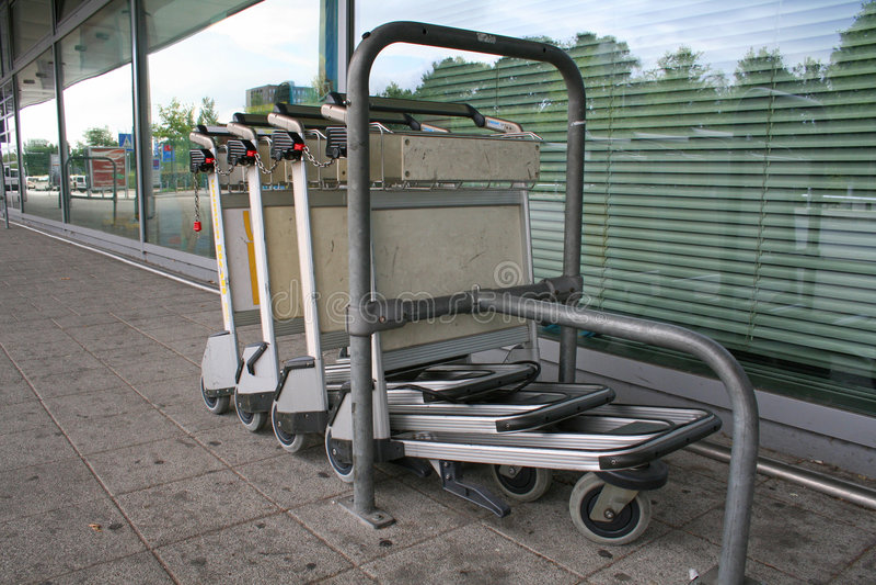 trolley arkivbild