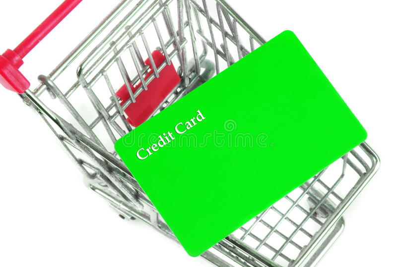 Trolley with card
