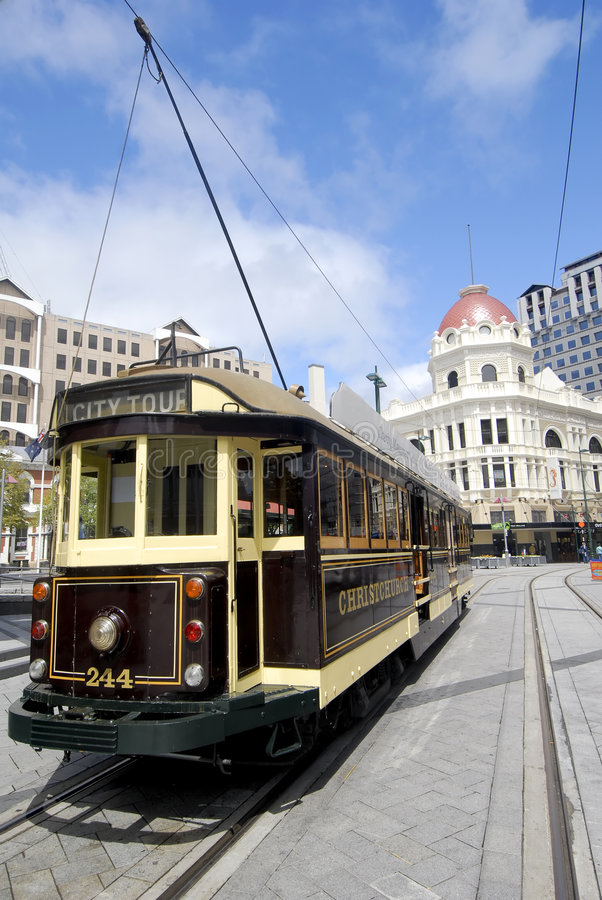 Download Trolley - Christchurch, New Zealand Stock Image - Image: 5094375