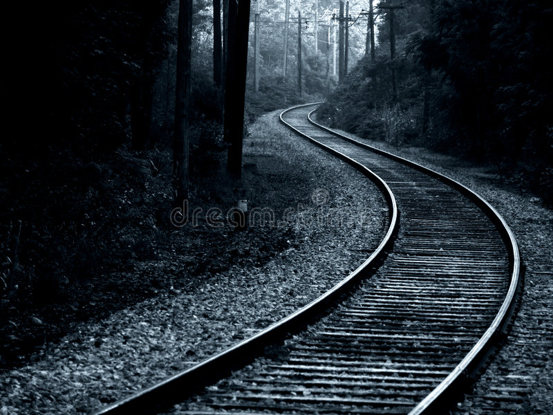 Trolley Track stock images