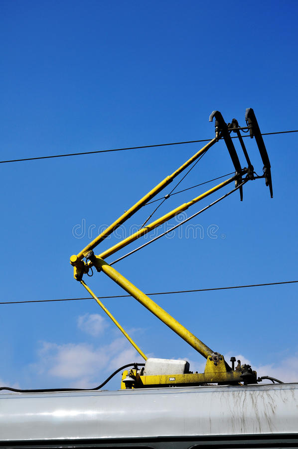 Download Trolley wire on tram stock photo. Image of tramway, industrial - 24449520