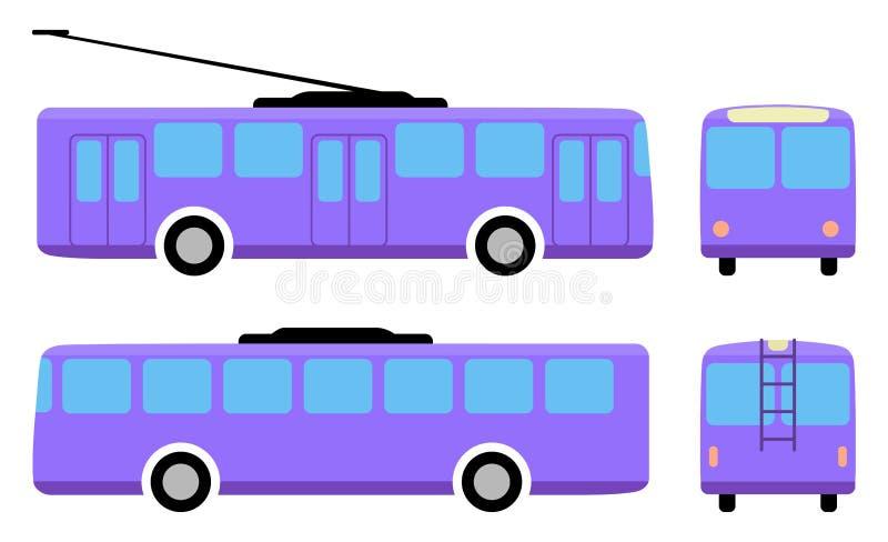 trolleybus stock illustratie