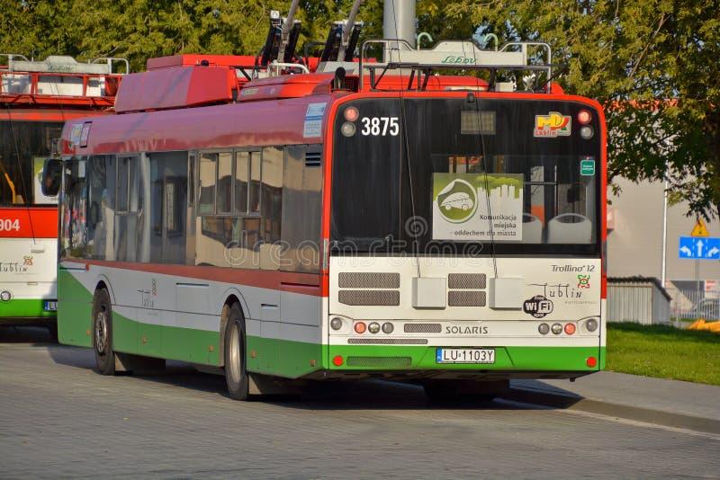 trolleybus στοκ εικόνα με δικαίωμα ελεύθερης χρήσης