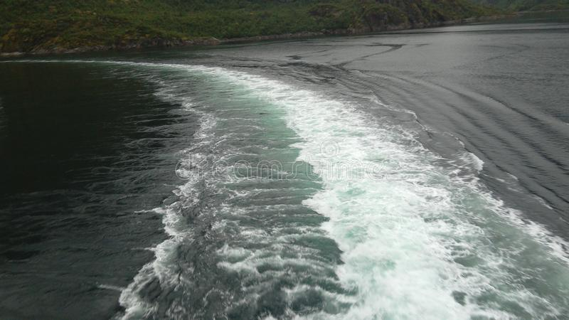 Trollfjord royaltyfri foto