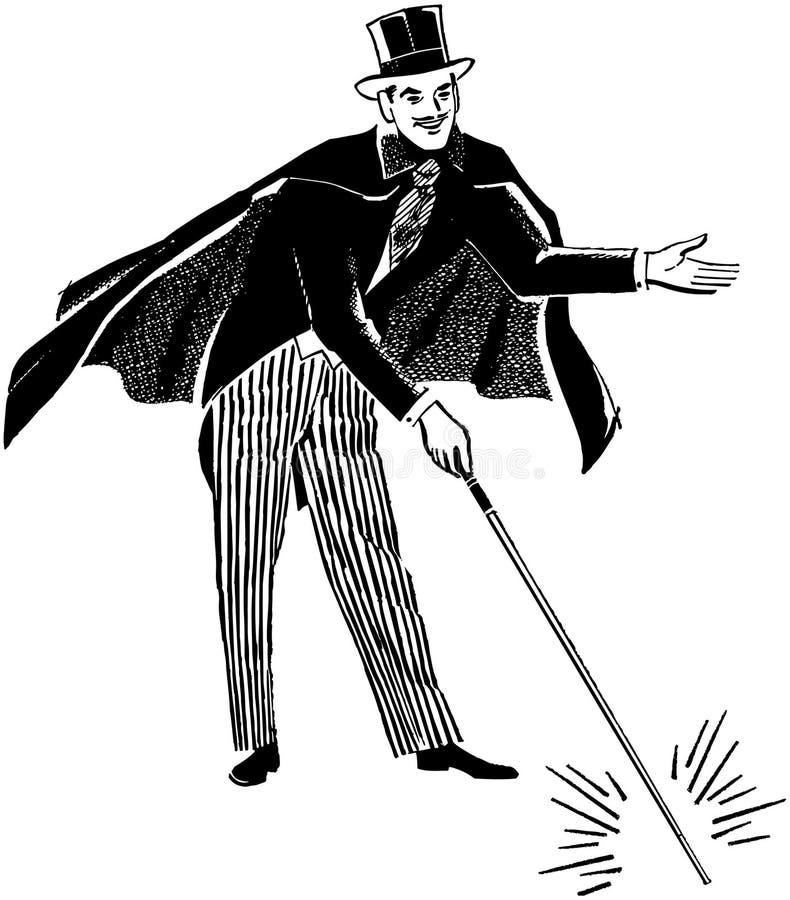 trollkarl royaltyfri illustrationer
