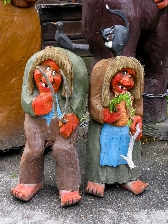 Trolls en Norvège photographie stock
