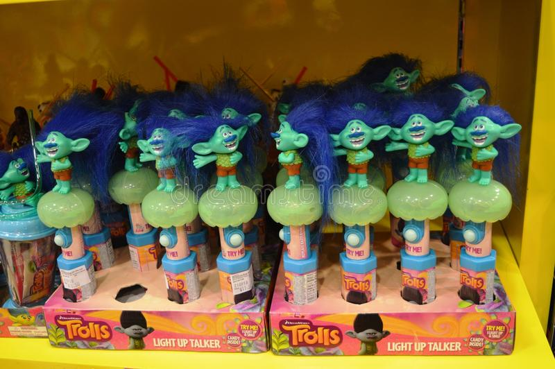 Download Trolls Toy Candy editorial image. Image of arms, blue - 83700165