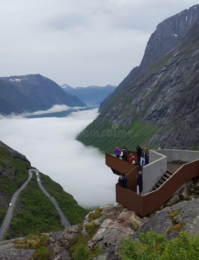 Trollstigen στοκ φωτογραφίες με δικαίωμα ελεύθερης χρήσης