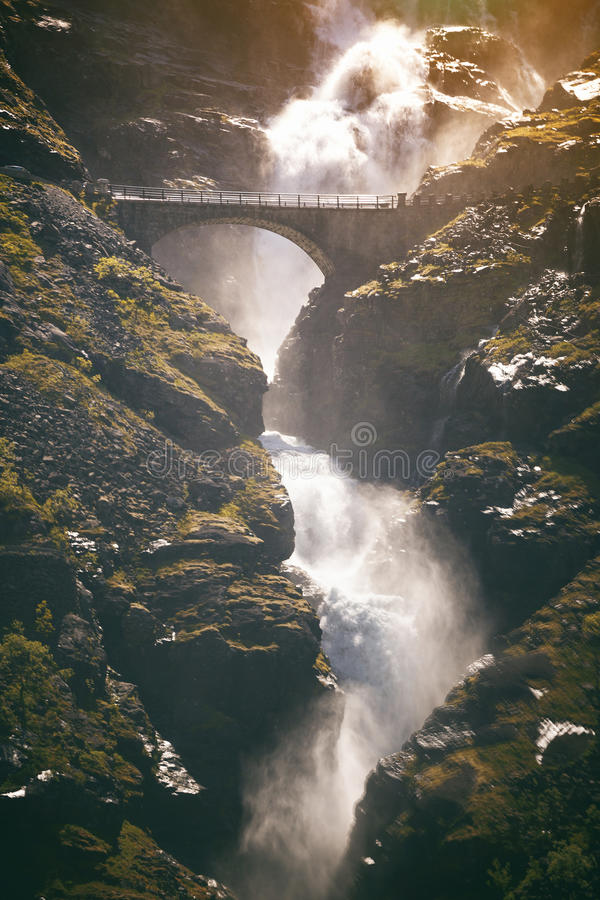Trollstigeveien στοκ εικόνες