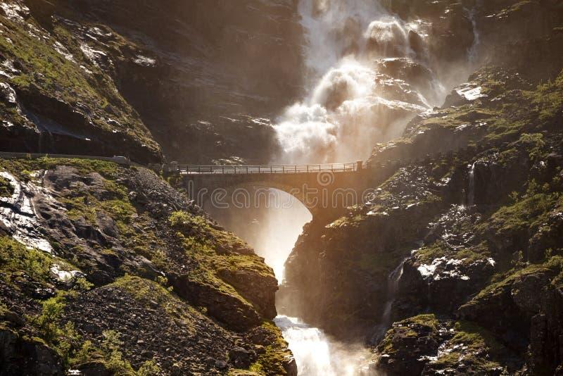 Trollstigeveien στοκ φωτογραφίες