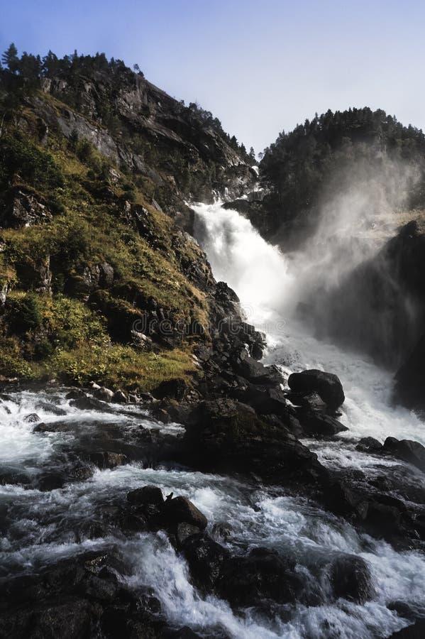 Trolltunga в Норвегии стоковые изображения rf