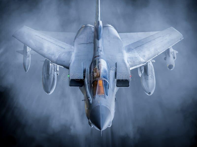 Tromb för Royal Air Force R.A.F. GR4 royaltyfri bild