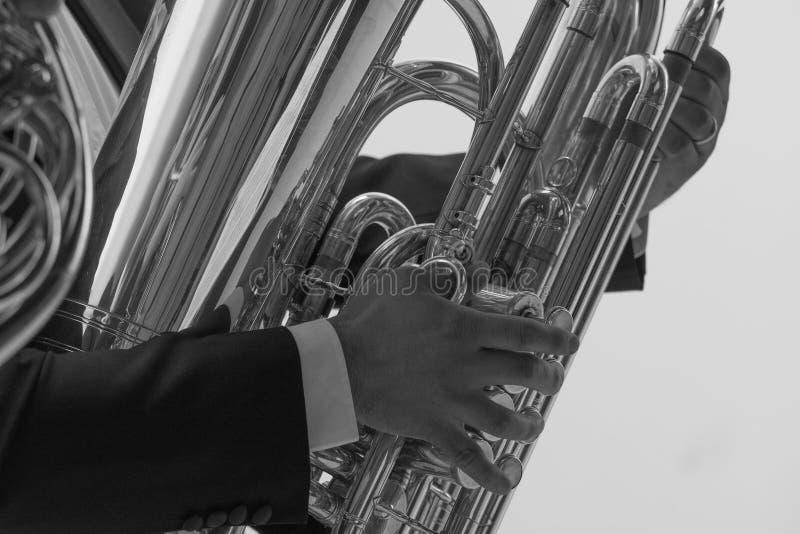 Download Trombone foto de stock. Imagem de músico, jogador, fundo - 107529194