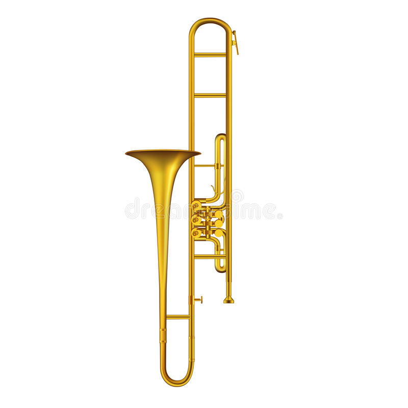 Trombone illustrazione di stock