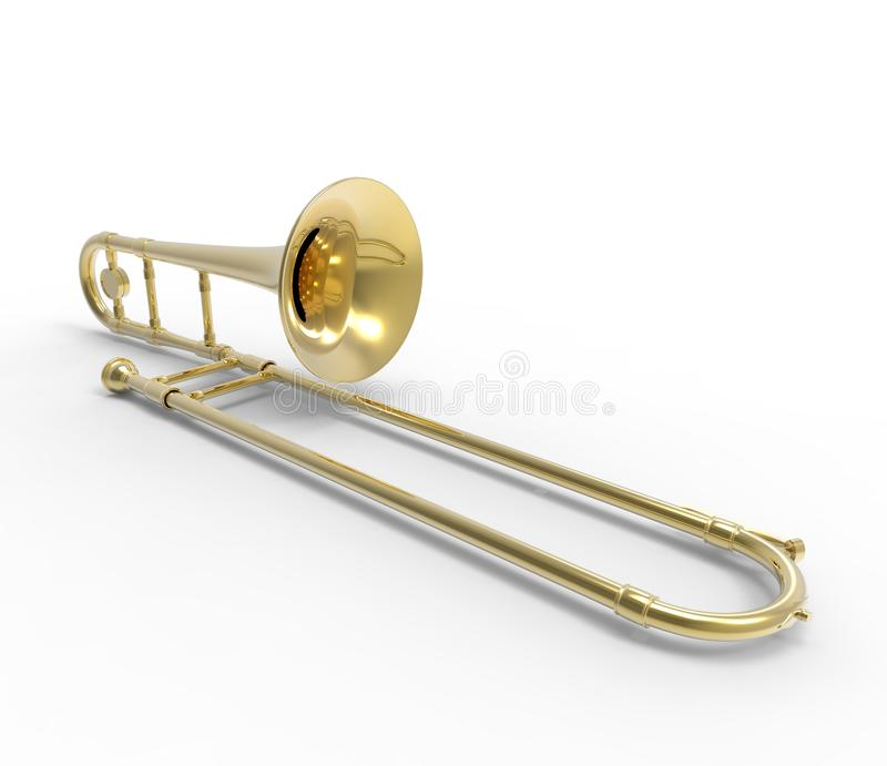 Trombone royalty illustrazione gratis