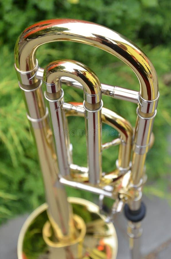 Trombone foto de archivo