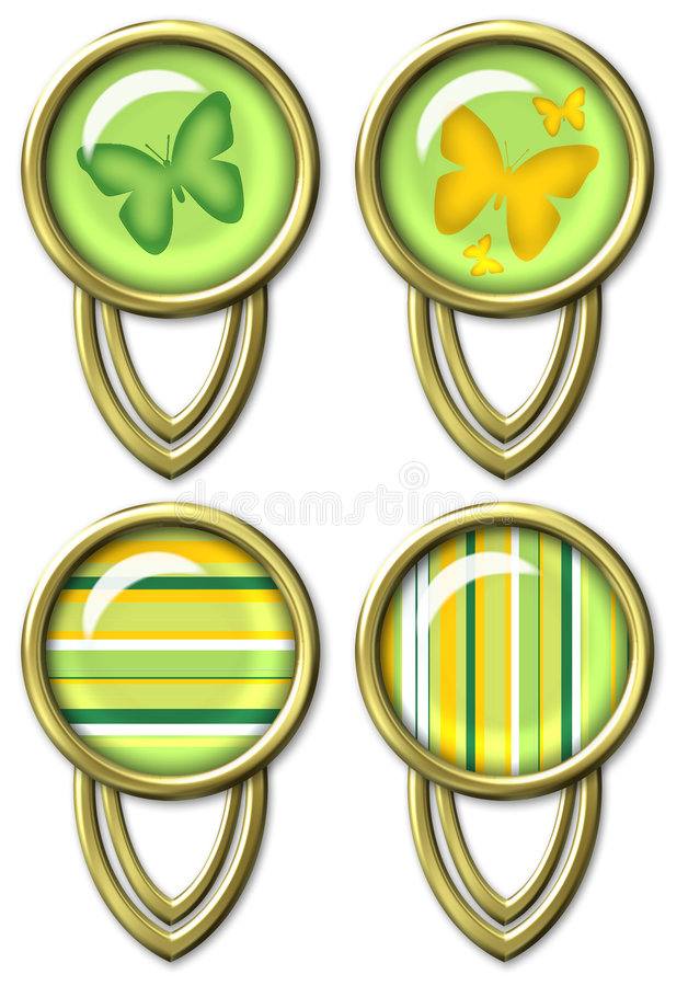 Trombone décoratif illustration de vecteur