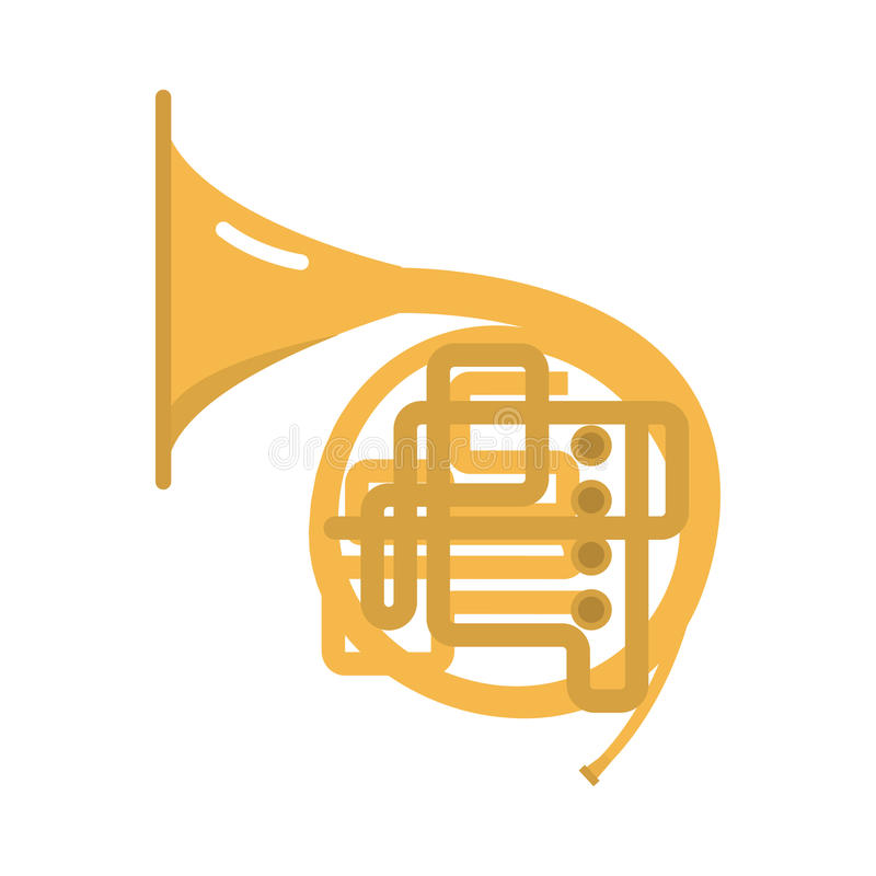 trombone tuba trumpet classical sound vector illustration french wind jazz pipe horn band concert gold metal brass instrument 85881182 trombone tuba trumpet classical sound vector illustration stock