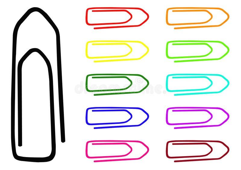 Trombones collection, ensemble illustration stock