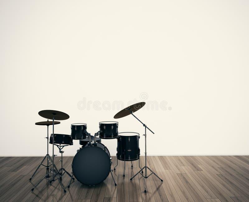 Trommelt musikalisches Hilfsmittel lizenzfreie stockfotos