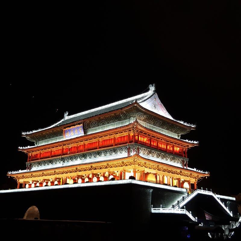 Trommelturm Xian-Stadt stockbild