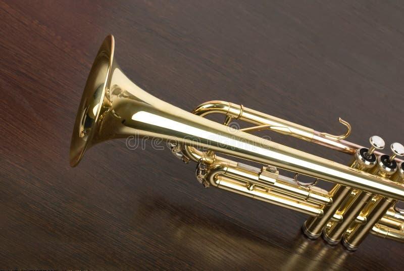 Trompet royalty-vrije stock afbeeldingen