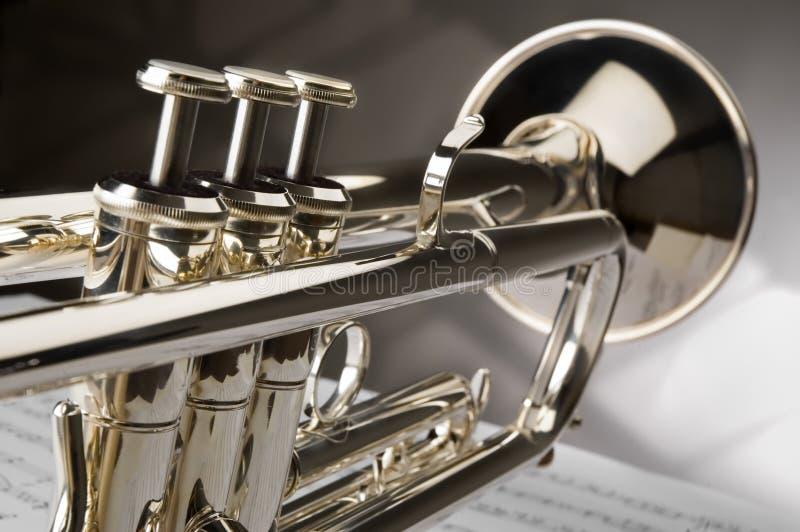 Trompet royalty-vrije stock fotografie