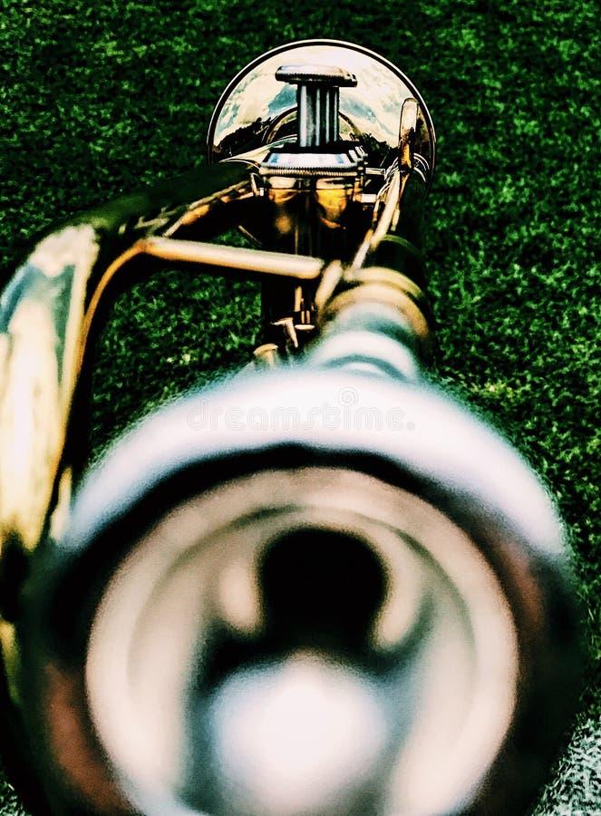 Trompet foto de archivo