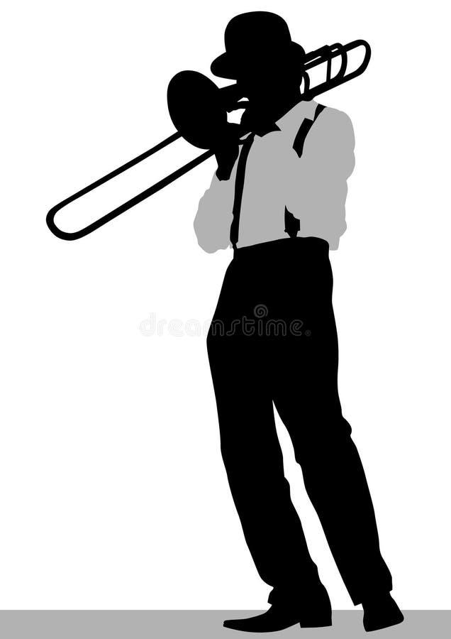 Trompeta en etapa libre illustration