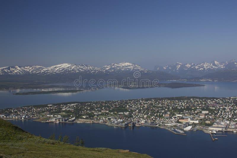 Tromse, Noruega foto de archivo libre de regalías