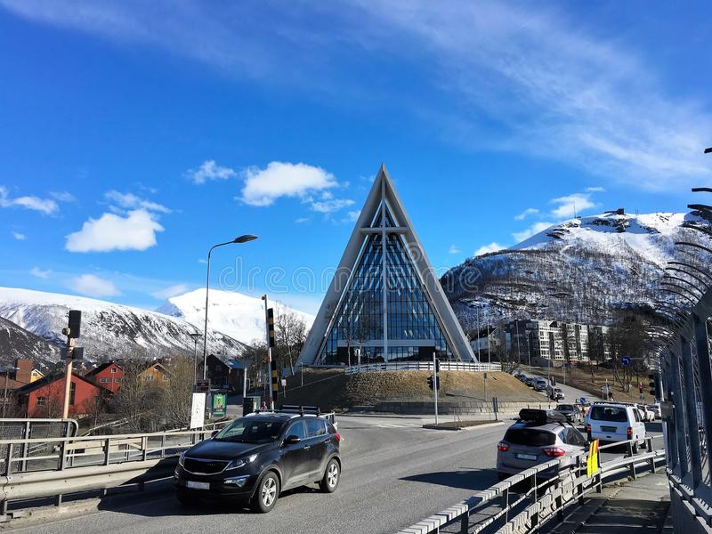 Tromse, Noruega imagem de stock