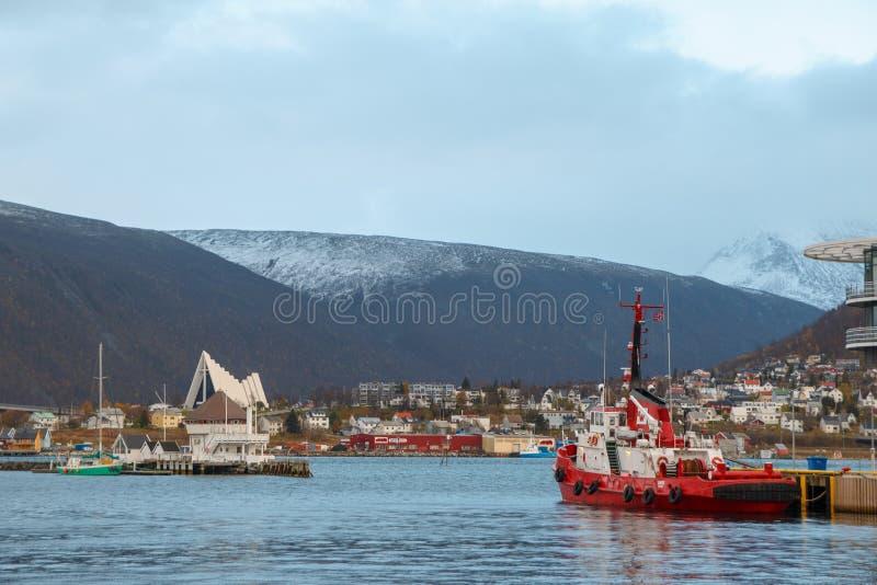 Tromse, Noruega imagens de stock