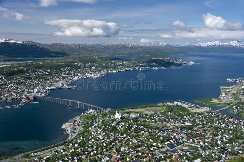 Tromso fotografie stock