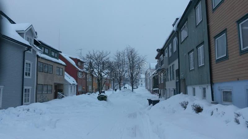 Tromso royalty-vrije stock foto