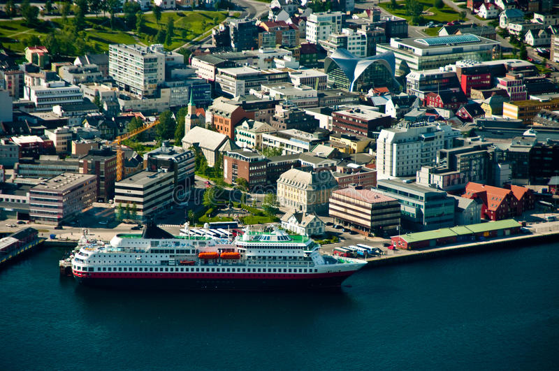 Download Tromso city in Norway stock photo. Image of tromso, centre - 31397012