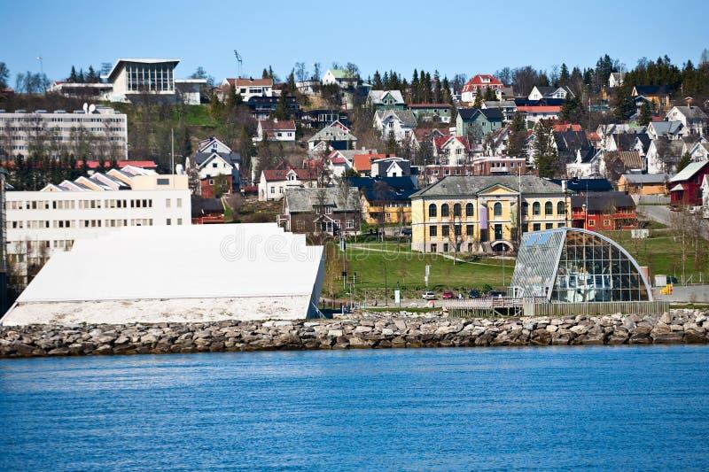 Download Tromso city View stock photo. Image of nautical, shore - 20708424