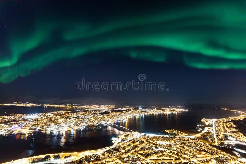 Tromso en Norvège du nord photographie stock libre de droits