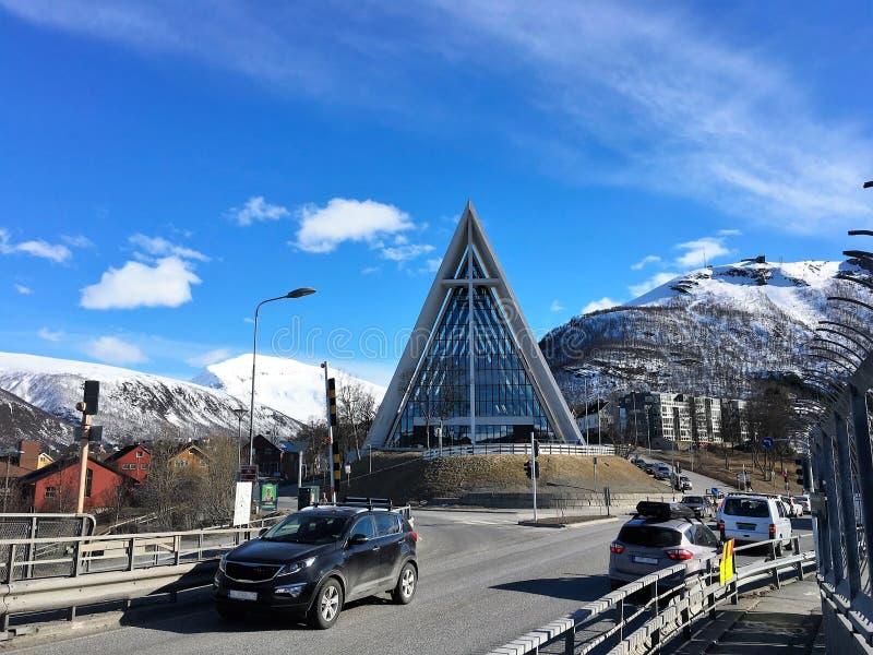 Tromso, Norway. stock image