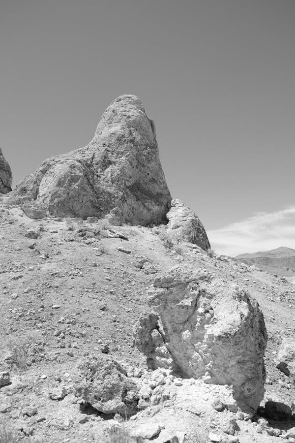 Trona-Berggipfel stockbilder