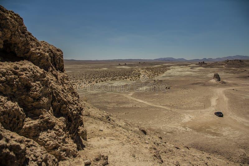 Trona Pinaccles, Nationale Parken, Californië royalty-vrije stock afbeeldingen