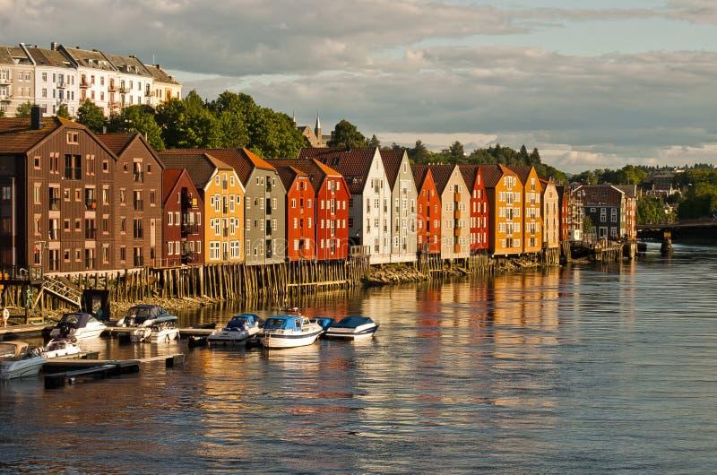 Trondheim foto de stock royalty free
