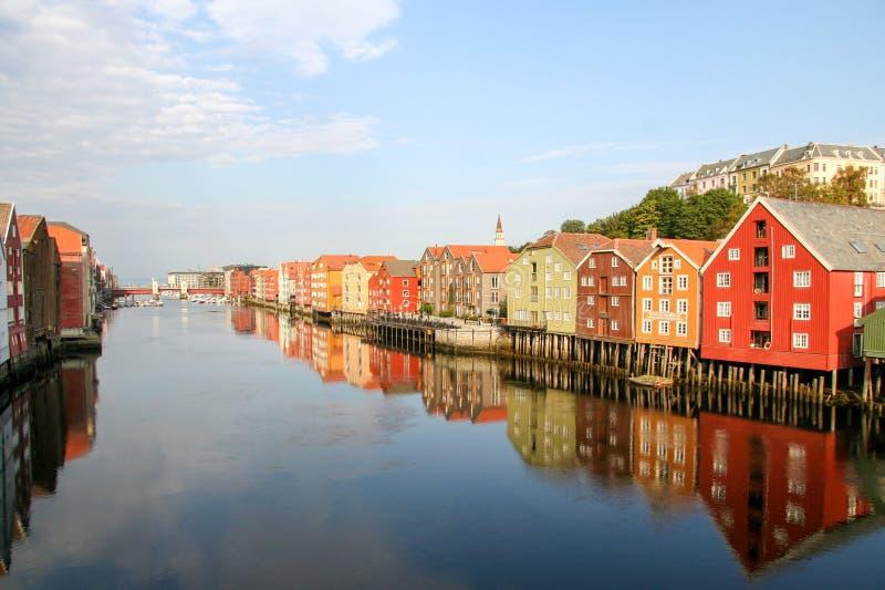 Trondheim imagem de stock
