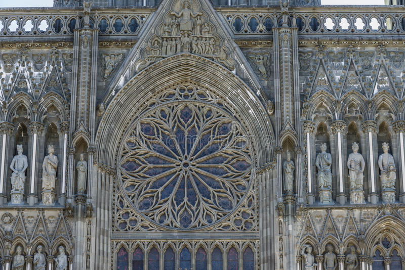 Download Trondheim Cathedral Stained Window Stock Image - Image: 33151627