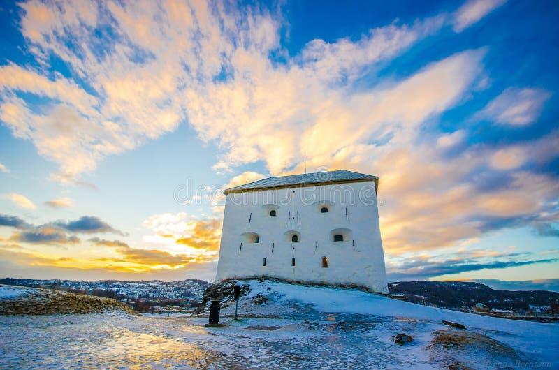 Trondheim festning royalty free stock images
