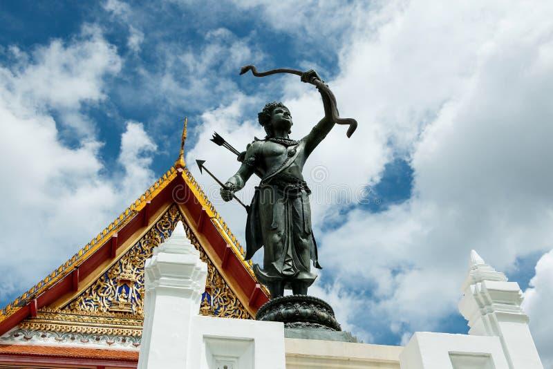 Trono de Hall Phuttaisawan, Museu Nacional Banguecoque imagem de stock royalty free