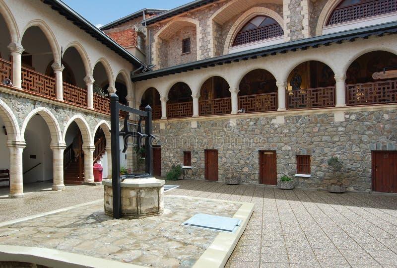 troodos гор скита kykkos Кипра стоковое изображение