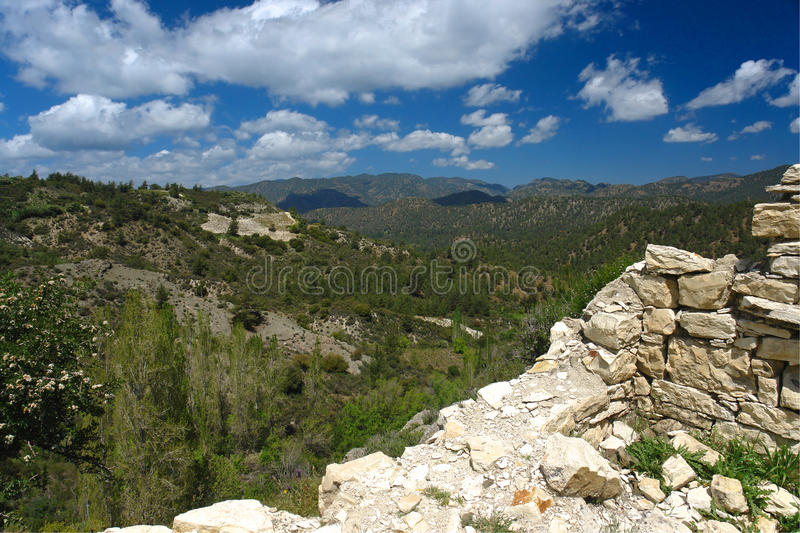 Download Troodos mountains in crete stock image. Image of nature - 14540431