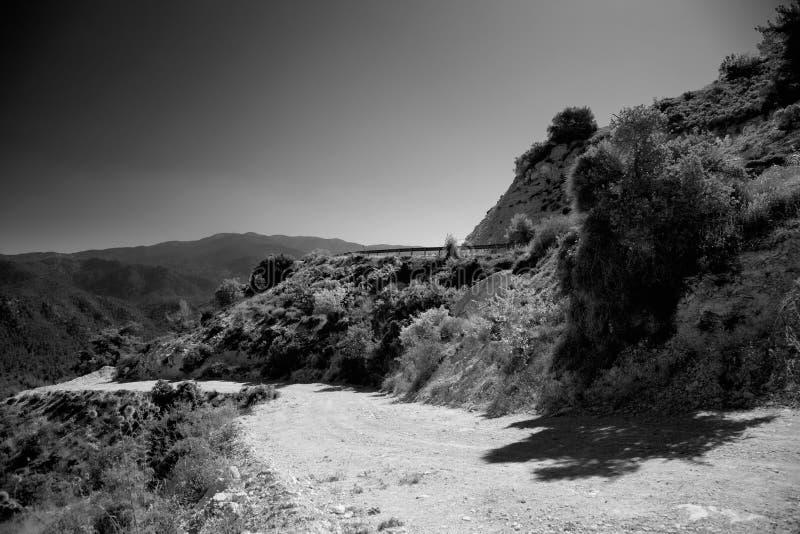 Troodos natura, Cypr fotografia stock