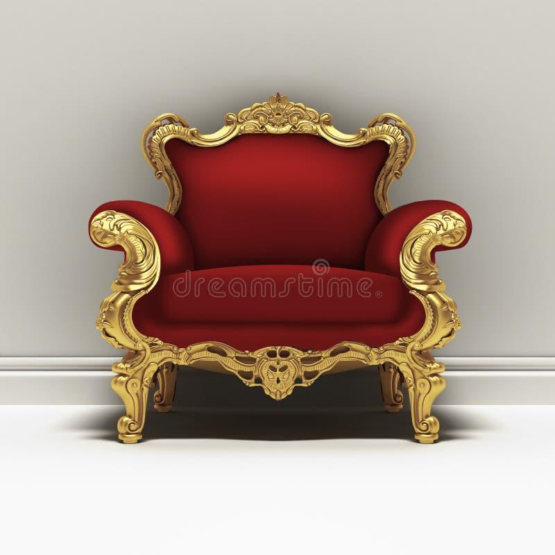 Troon royalty-vrije illustratie